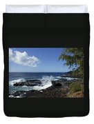 Coast Of Kauai Duvet Cover