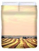 Coastal Farm Pei Duvet Cover by Edward Fielding