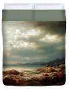 Coastal Landscape Duvet Cover