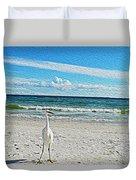 Coastal Life Duvet Cover