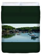 Coastal Maine Bay Duvet Cover