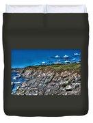Coastal Nova Scotia Duvet Cover