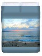 Coastal Ribbon Candy Duvet Cover
