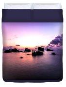 Coastal Sunrise Duvet Cover