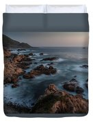 Coastal Tranquility Duvet Cover by Mike Reid