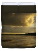 Coastal Winters Afternoon 2 Duvet Cover by Amy-Elizabeth Toomey