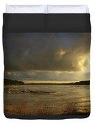 Coastal Winters Afternoon Duvet Cover