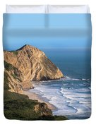 Coastline At Point Reyes National Sea Duvet Cover