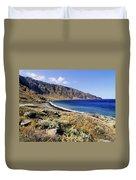 Coastline Of Hierro Island Duvet Cover