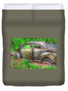 Coat Of Different Colors- Auto Personalities #3 Duvet Cover