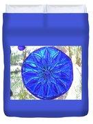 Cobalt Mandala  Duvet Cover