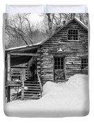 Slayton Pasture Cobber Cabin Trapp Family Lodge Stowe Vermont Duvet Cover