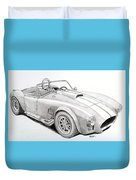 Ac Ford Cobra With 427  Duvet Cover