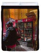 Coca Cola Lunch Duvet Cover