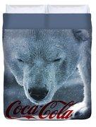 Coca Cola Polar Bear Duvet Cover