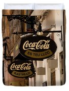 Coca-cola Duvet Cover