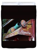 Coca Cola Sign Buenos Aires Duvet Cover