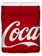 Coca Duvet Cover