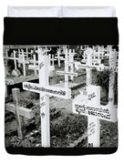 Cochin Cemetery  Duvet Cover