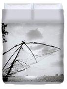 Sunset Over Cochin Duvet Cover