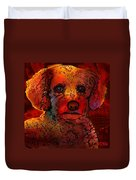 Cockapoo Dog Duvet Cover