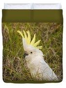 Cockatoo Portrait  Duvet Cover