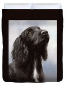 Cocker Spaniel Painting Duvet Cover