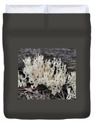 Crown-tipped Coral Duvet Cover
