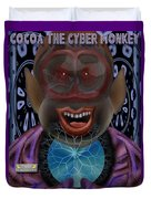 Cocoa The Cyber Monkey Duvet Cover