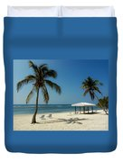 Coconut Beach  Duvet Cover