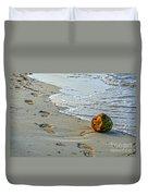 Coconut On The Sand Duvet Cover