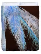 Coconut Palm - Reunion Island - Indian Ocean Duvet Cover