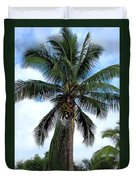 Coconut Palm Tree Duvet Cover
