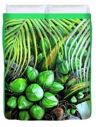 Coconut Tree   Sold Duvet Cover
