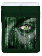 Code Breaker Duvet Cover