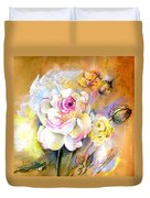 Coeur De Rose Duvet Cover