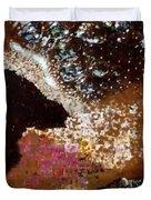 Coffee Bubbles 4 Duvet Cover