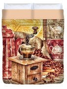 Coffee Mill Duvet Cover
