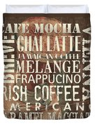 Coffee Of The Day 1 Duvet Cover by Debbie DeWitt