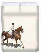 Coffee Saddlebred Duvet Cover