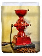 Coffee The Morning Grind Duvet Cover