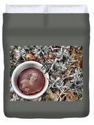Coffee With Joan Crawford No. 1 Duvet Cover
