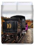 Cog Railway Duvet Cover
