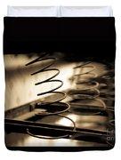 Coil Bed Springs Duvet Cover