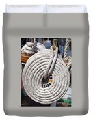 Coiled Rope Duvet Cover