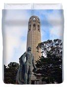 Coit Tower -1 Duvet Cover