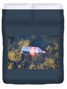 Coke Among The Seaweed Duvet Cover