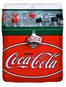 Coke Cooler Duvet Cover