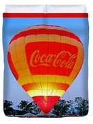 Coke Float Duvet Cover