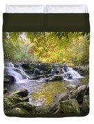 Coker Creek Falls Duvet Cover